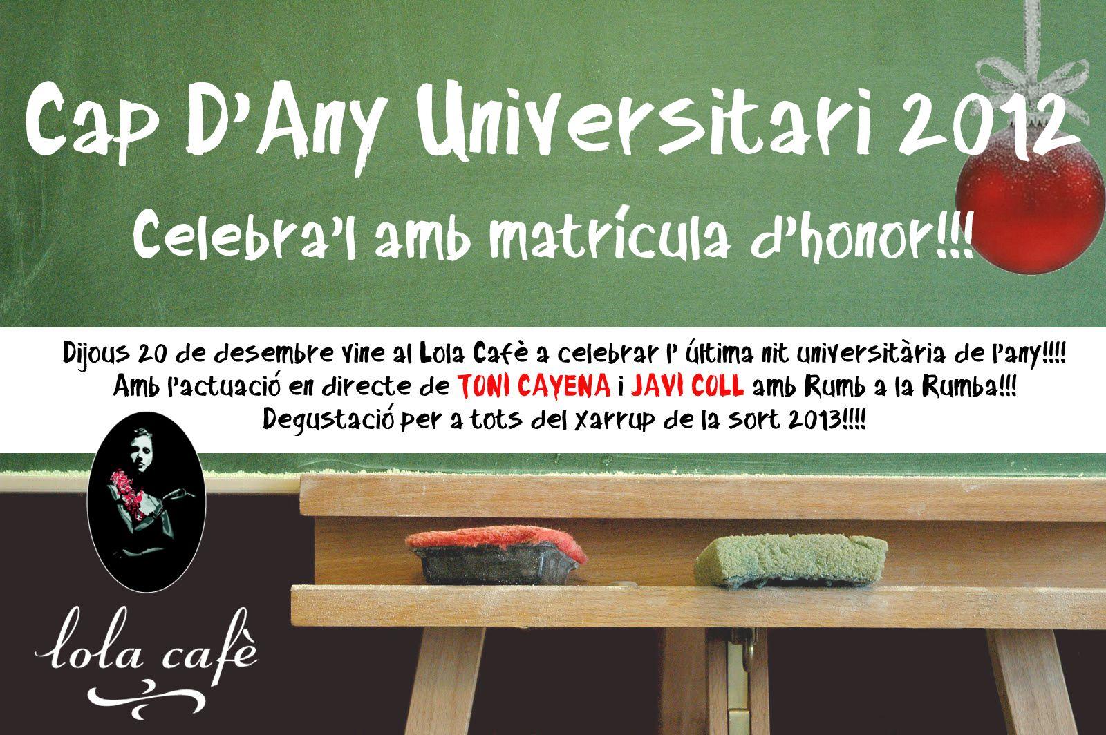 Lola Y Javi Lo Hacen En El Bano.Cap D Any Universitari Al Lola Cafe Party Universitarios