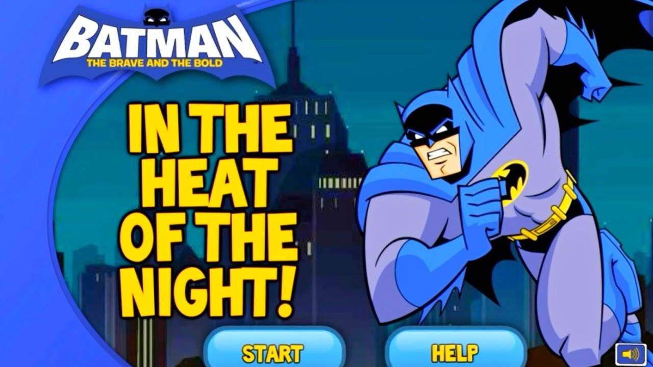 Batman Top Cartoon Games Overviews In The Heat Of The Night