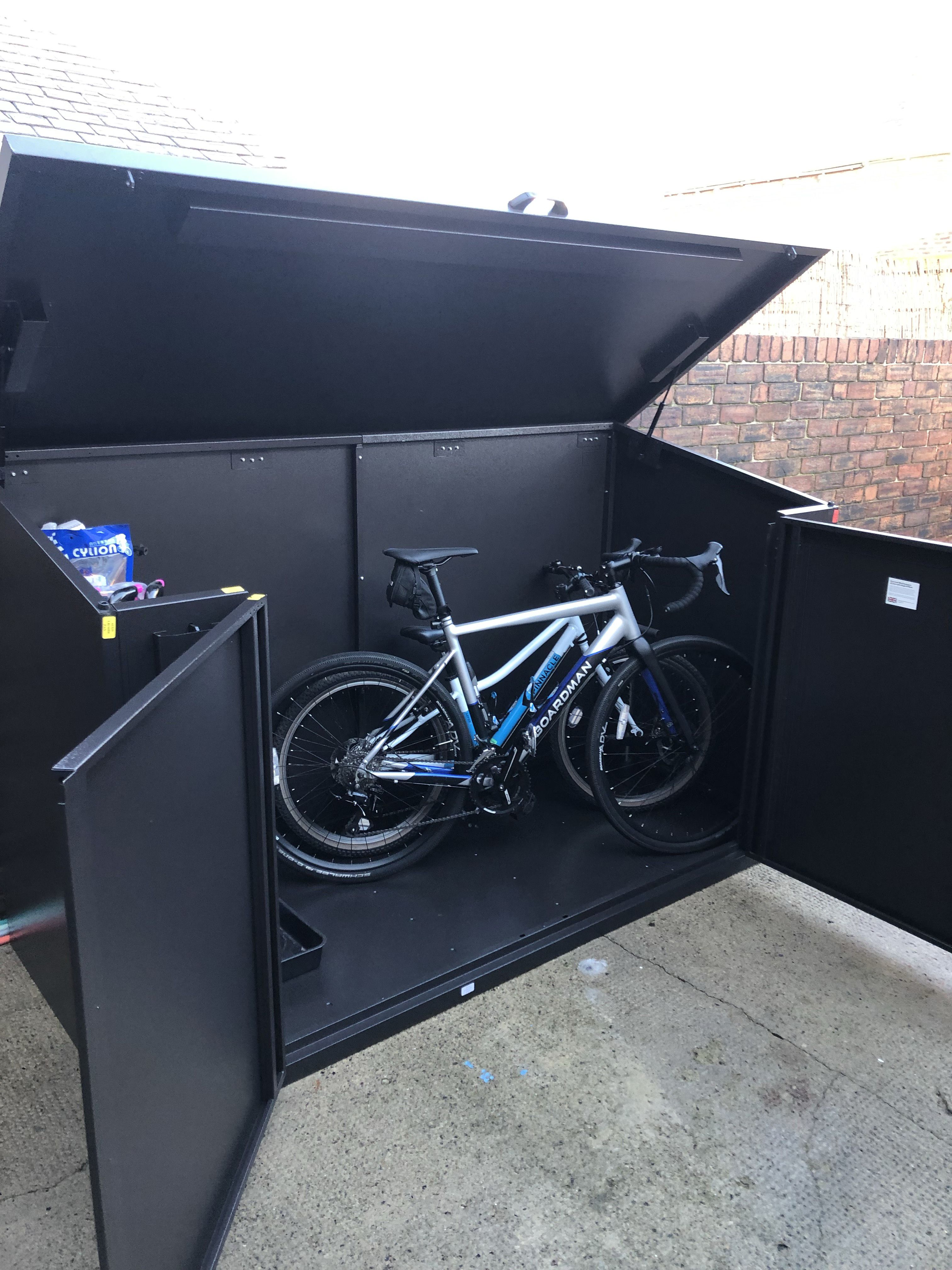 2f6f165dbcf The Access offers all metal bike storage for 4* bikes and is a generously  proportioned bike storage solution. Built from thick galvanized  (weatherproof) ...