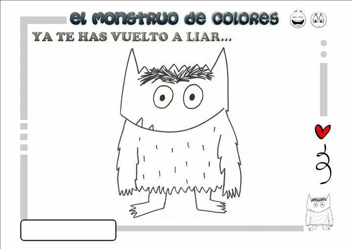personajes del cuento el monstruo de los colores - Buscar con Google ...
