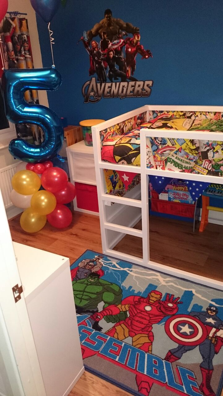IKEA Kura Bed Marvel Avengers