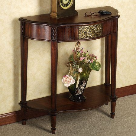 sarantino console table console table elegant home on small entryway console table decor ideas make a statement with your home s entryway id=82546