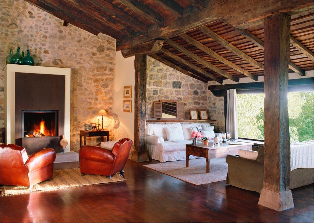 Cómo decorar una casa rural? http://ini.es/2i3b40q #Cocina ...
