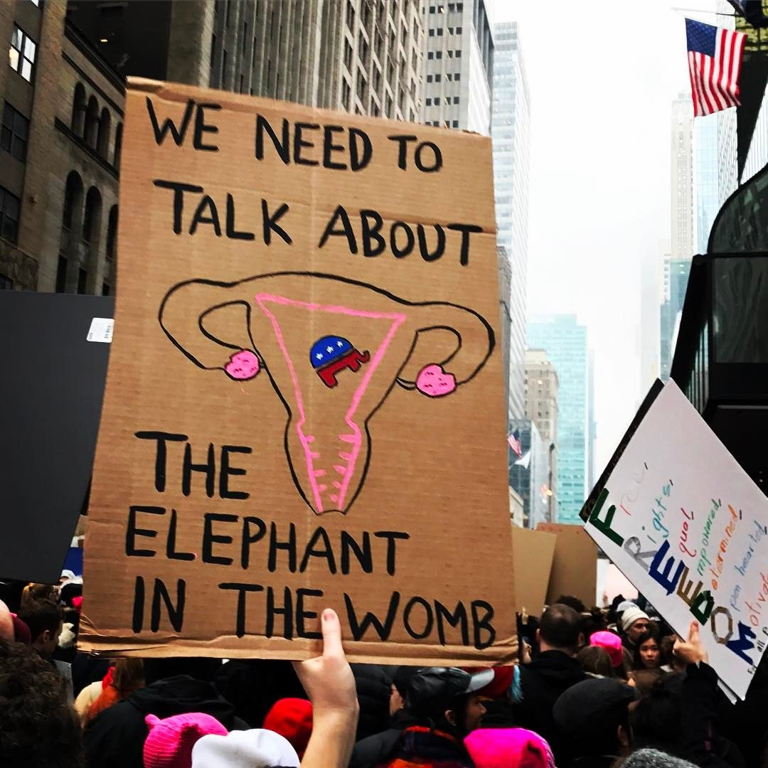 32 Of The Absolute Best Signs From The Nyc Women 39 S March Womens March Signs Protest Signs Feminism