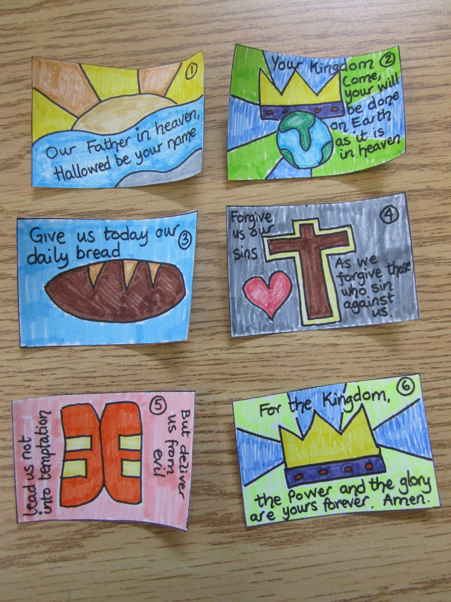 Lord S Prayer Booklet Ministry 2 Kids