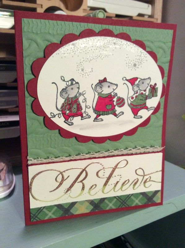 stampin up merry mice su souris de noel pinterest. Black Bedroom Furniture Sets. Home Design Ideas