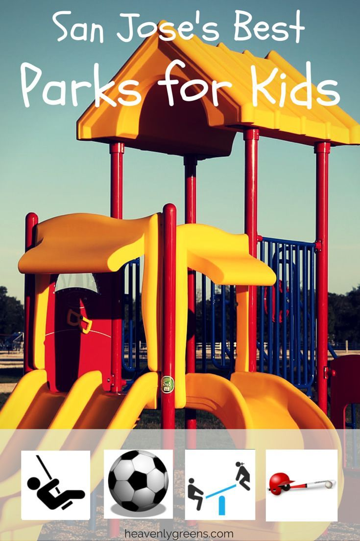 Here are some of the best parks for kids in San Jose where your kids can meet and enjoy new friends and play on equipments you don't have at home. http://www.heavenlygreens.com/blog/best-parks-for-kids-in-san-jose-california