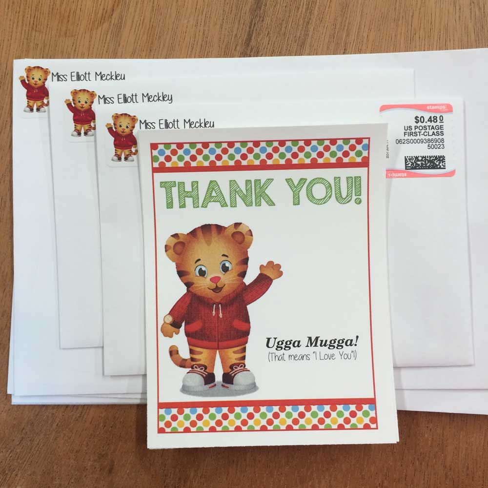 Daniel Tiger Birthday Party with Free Printables! | Daniel tiger ...