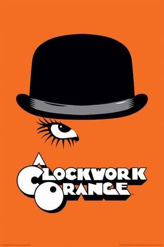 Stanley Kubrick/'s Clockwork Orange Eyes Movie Poster