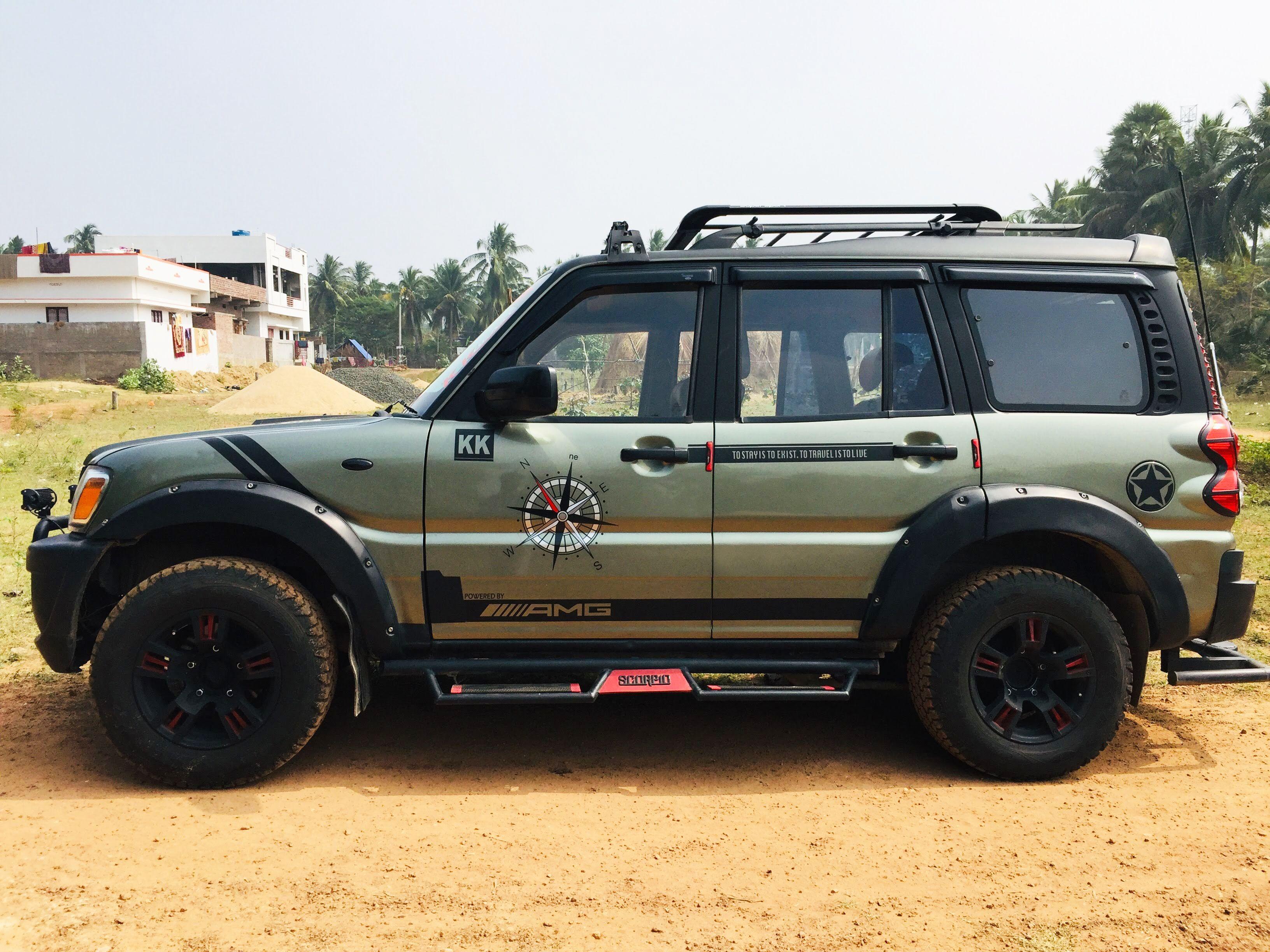 Custom Modified Scorpio Scorpio Car Scorpio Car