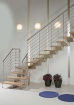 escaleras modernas de madera y metal - Buscar con Google