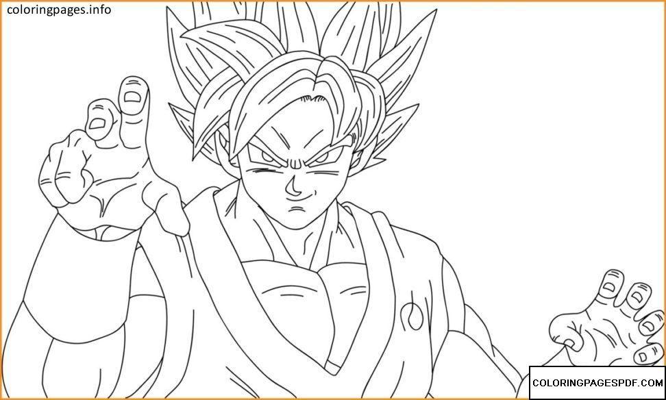 Goku Coloring Pages Pdf Free Coloring Pages At Coloringpagespdf Com Dibujos Para Colorear Faciles Dibujos Para Colorear Dibujos