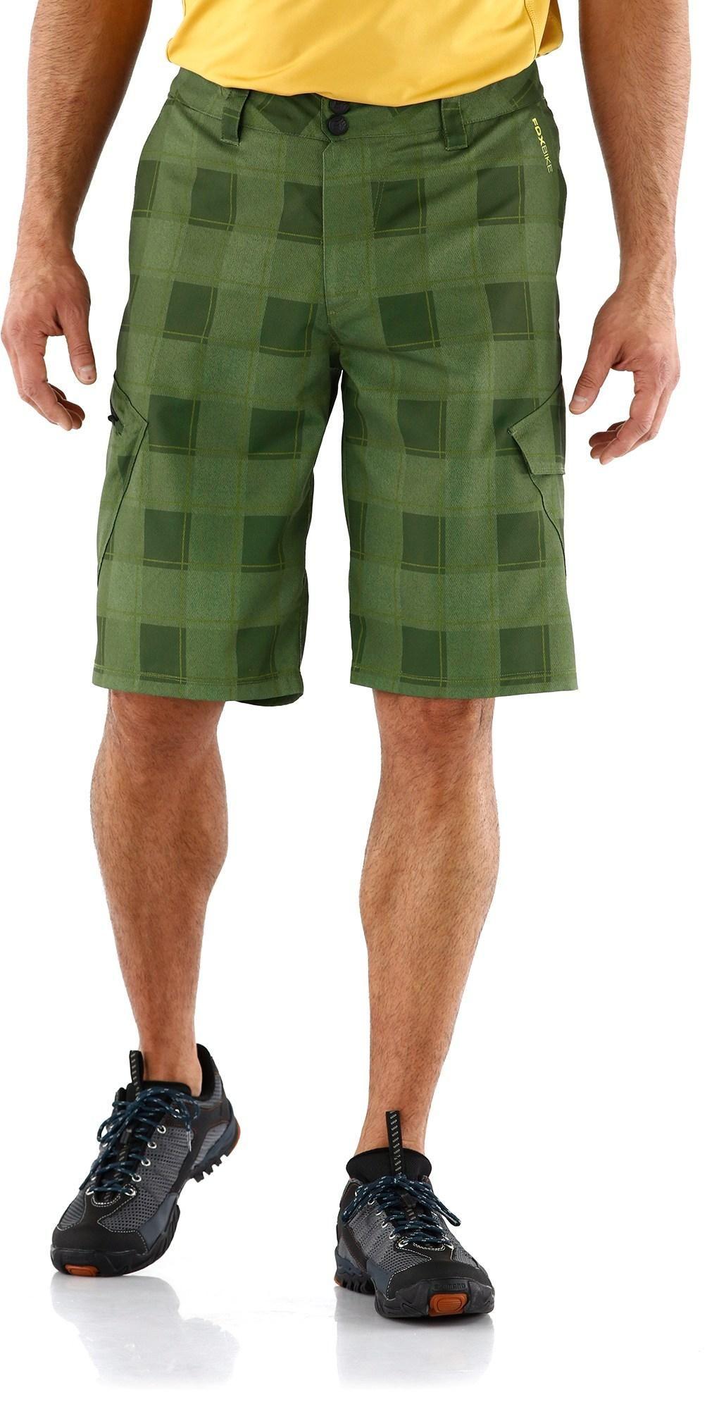 The Men S Fox Ranger Print Cargo Mountain Bike Shorts Have Liner