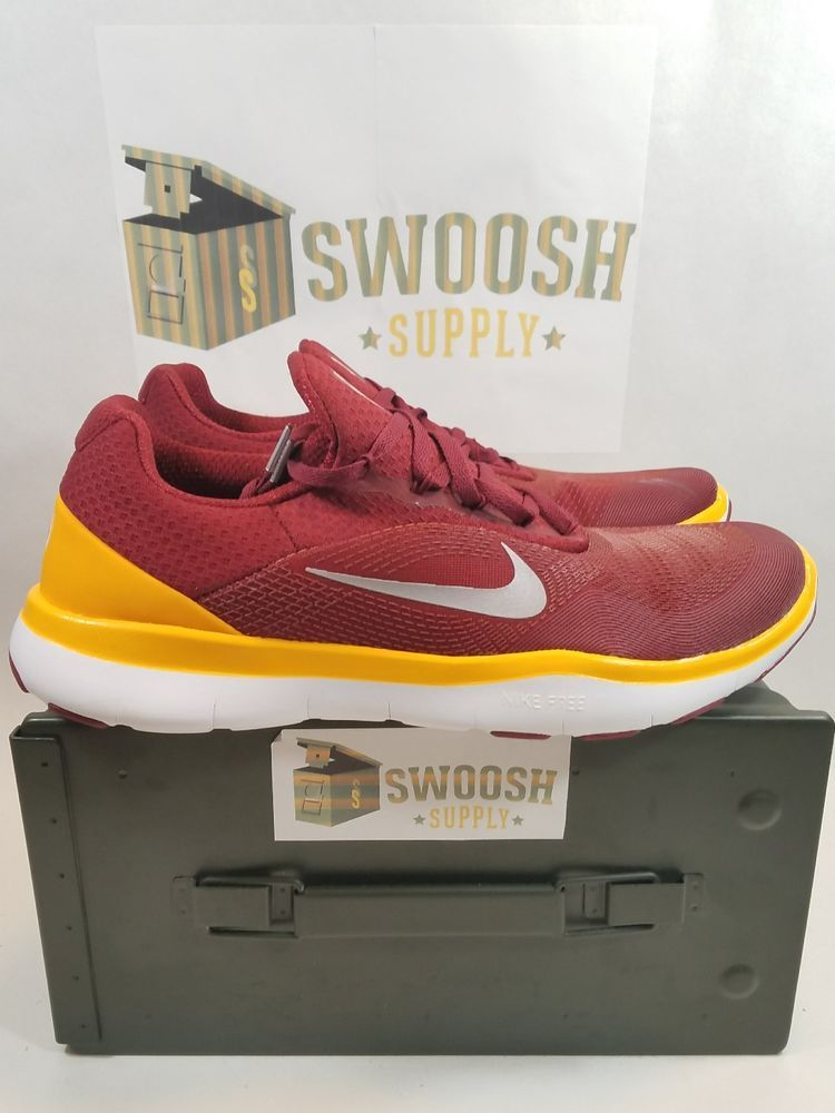accf7a2c7df51 Nike Free Trainer V7 NFL Washington Redskins Shoes Size 10.5 AA1948-600 New   Nike  RunningCrossTraining