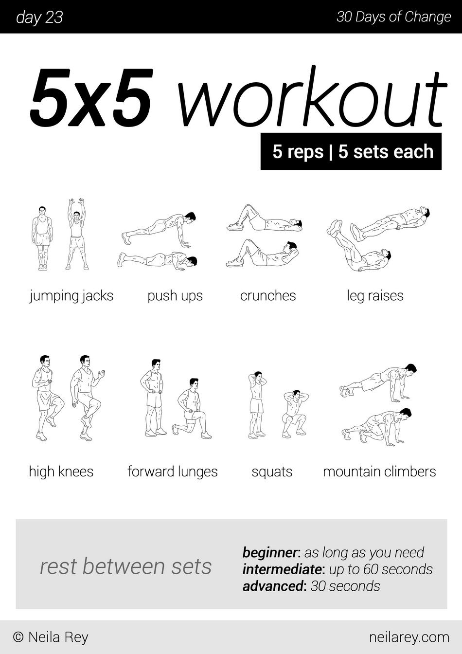 how to read a workout program
