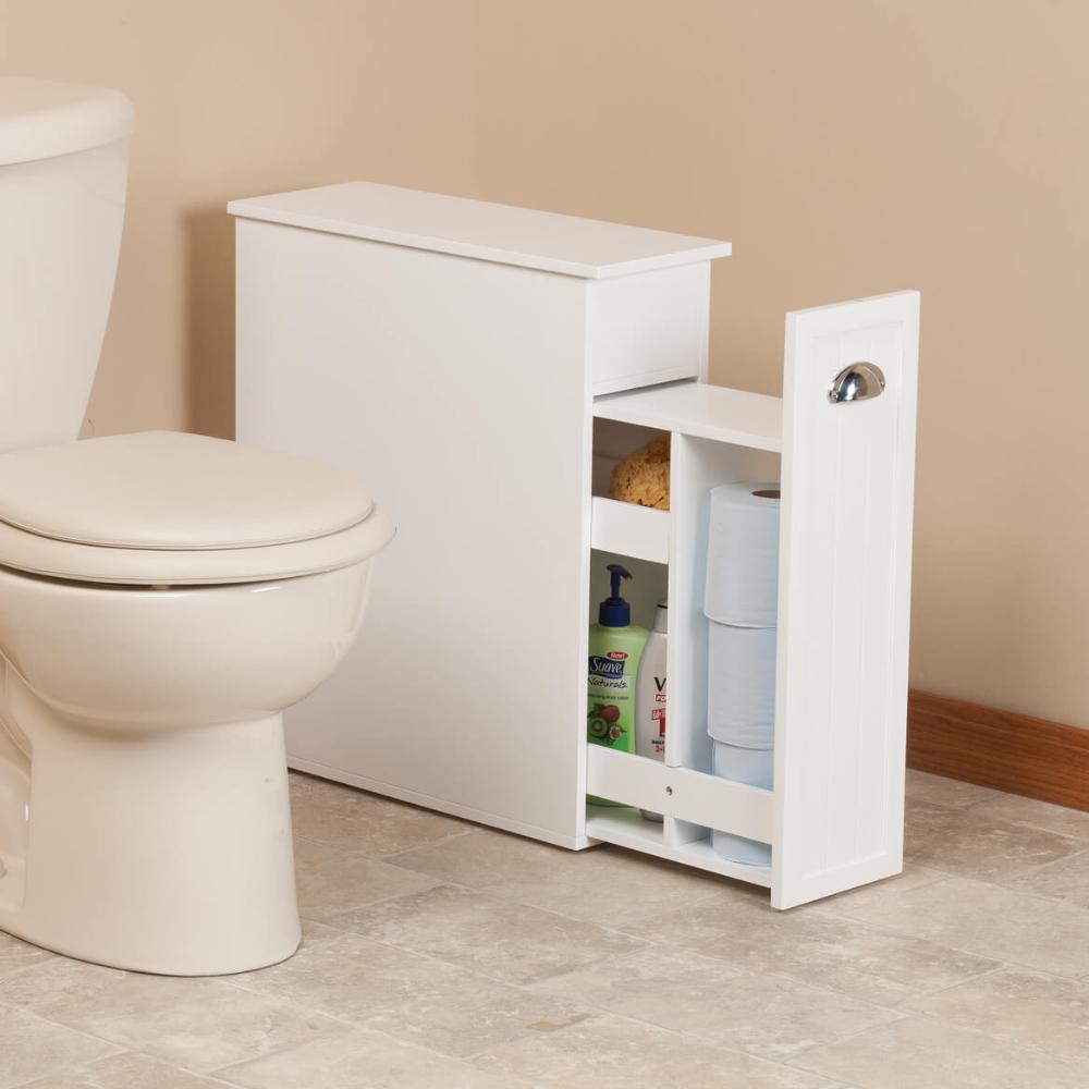 Slim Bathroom Storage Cabinet By Oakridge Slim Bathroom Storage Slim Bathroom Storage Cabinet Bathroom Storage Cabinet