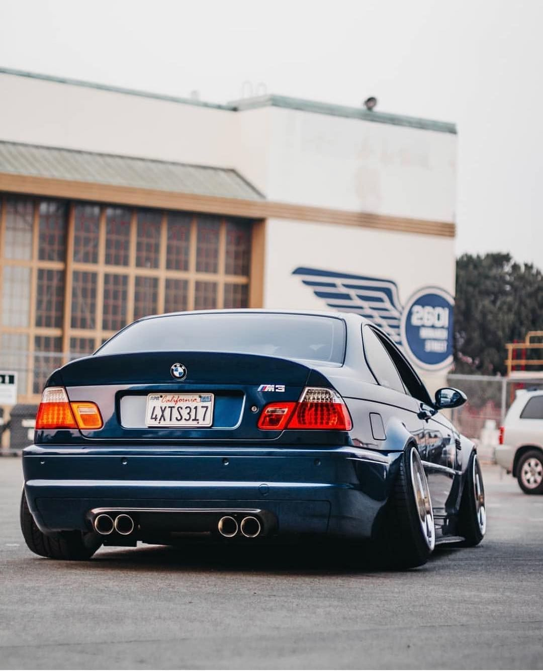 Bmw E46 M3 Blue Stance With Images Bmw Bmw E46 E46 Touring