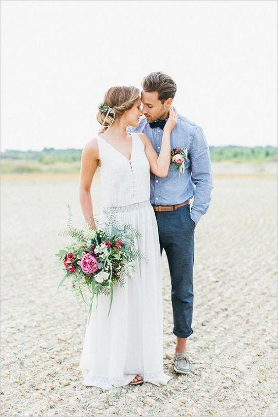 30 Beach Wedding Groom Attire Ideas