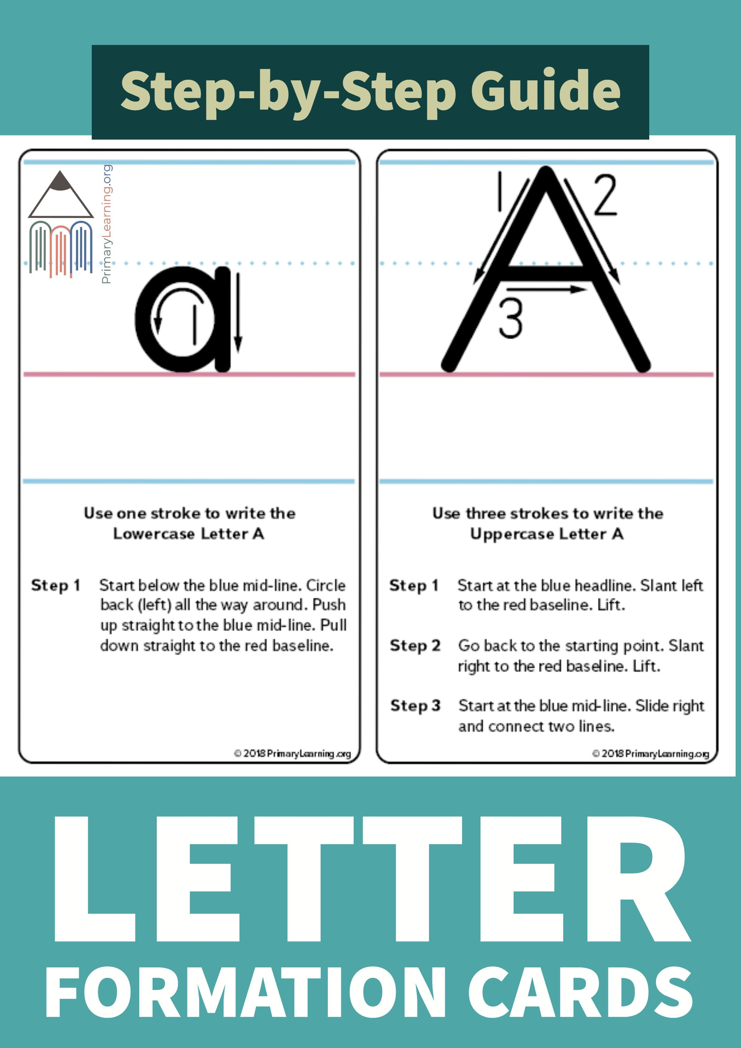 How To Write The Letter A