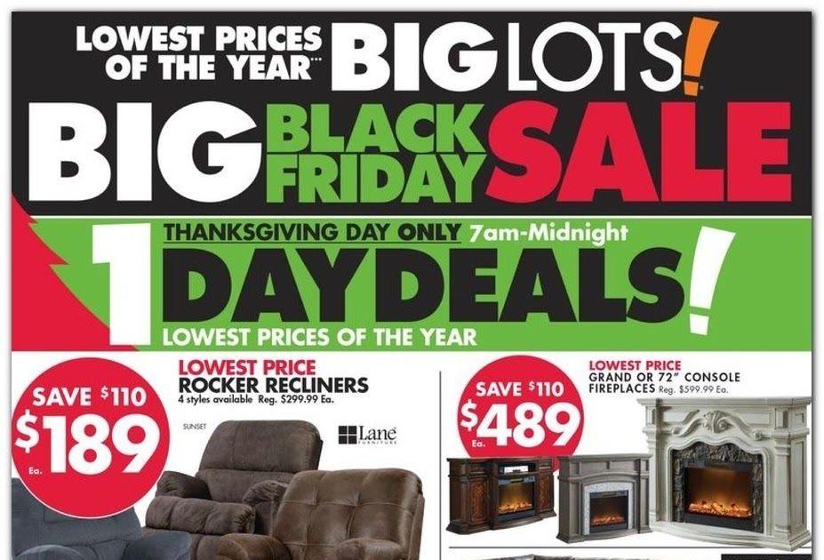 Big Lots Black Friday 2020 Ad Deals And, Furniture Black Friday