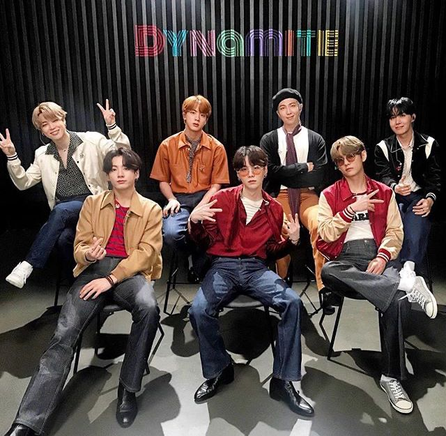 Check Out The New Song Dynamite From Bts In 2020