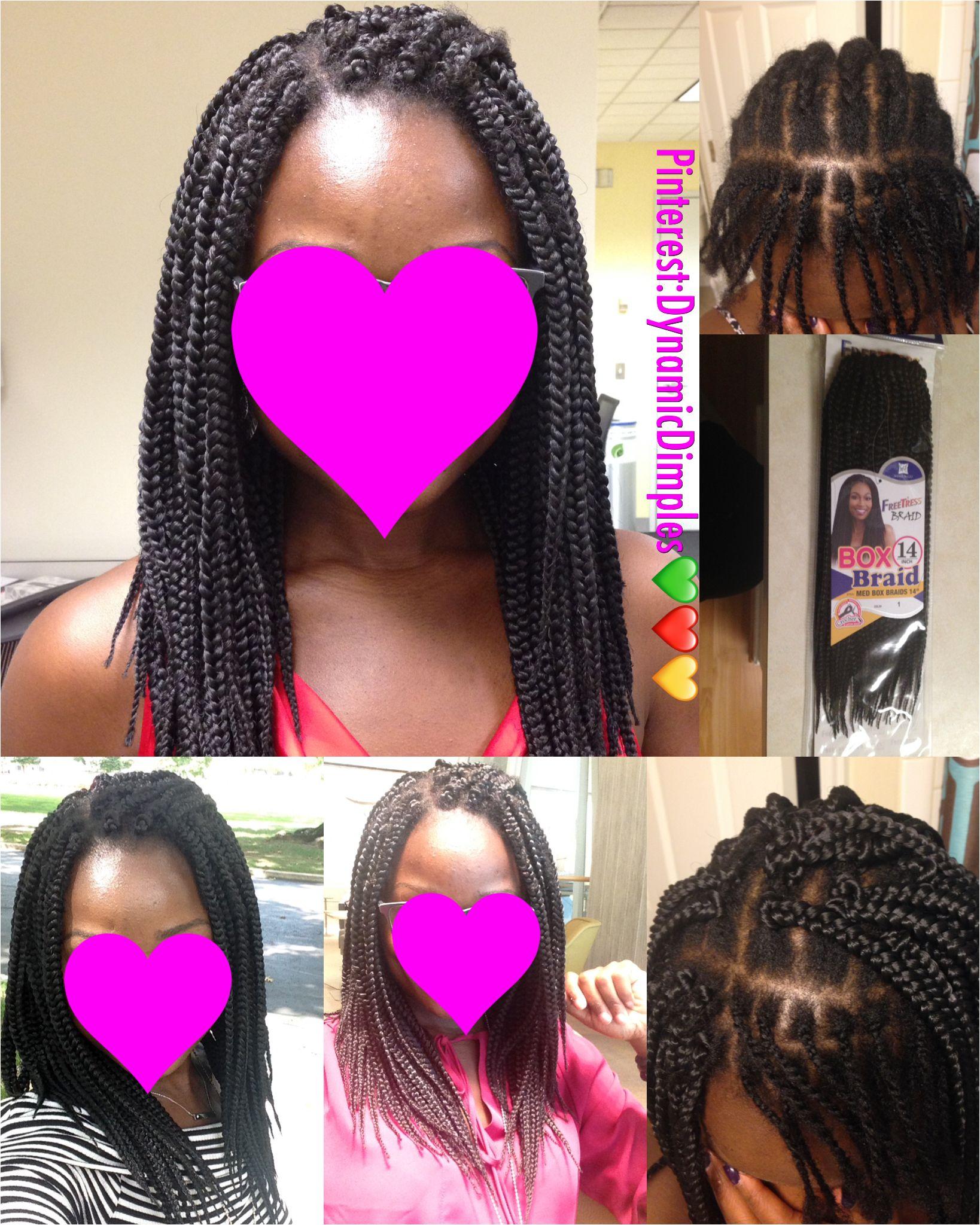 Crochet Medium Size Box Braids Half Cornrows And Half Singles Half Cornrows Natural Hair Community Natural Hair Styles