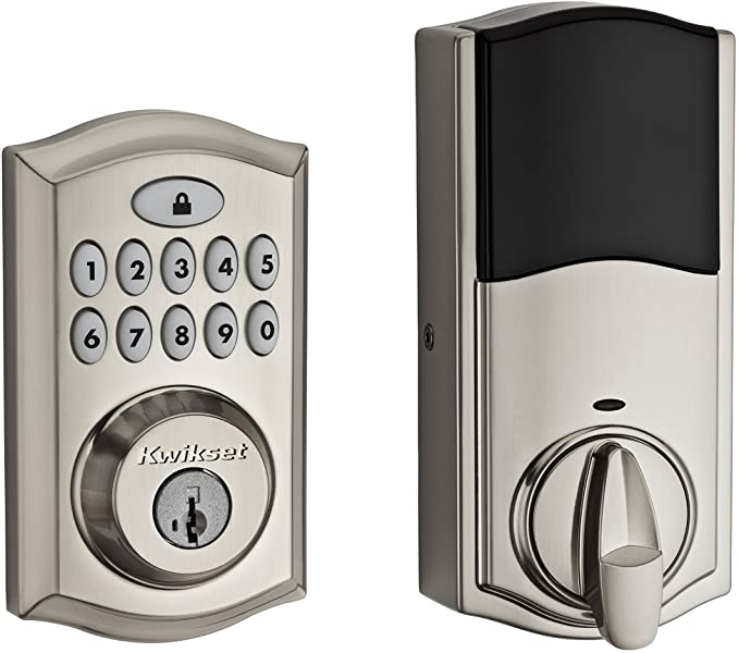 Kwikset 99130 002 Smartcode 913 Non Connected Keyless Entry Electronic Keypad Deadbolt Door Lock Featuring Smartkey In 2020 Keypad Door Locks Keypad Deadbolt Deadbolt