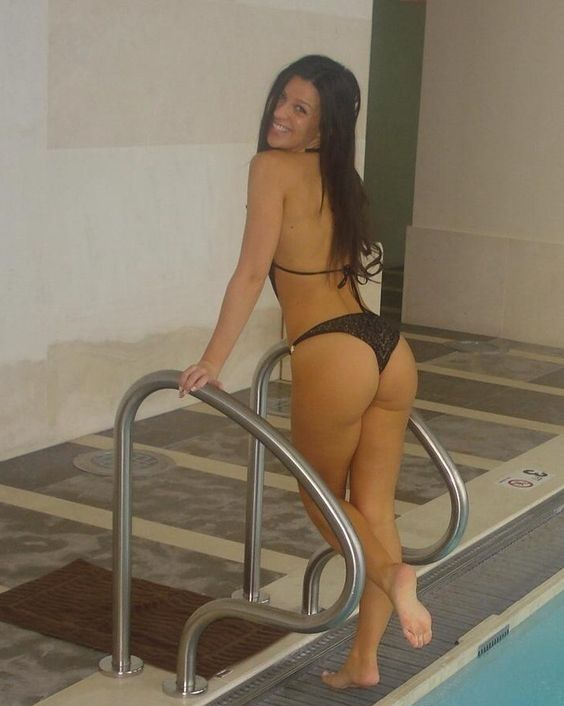 Beach bikini community pool slut type #15