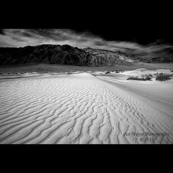 Items similar to death valley landscape high contrast fine art black and white photograph on etsy