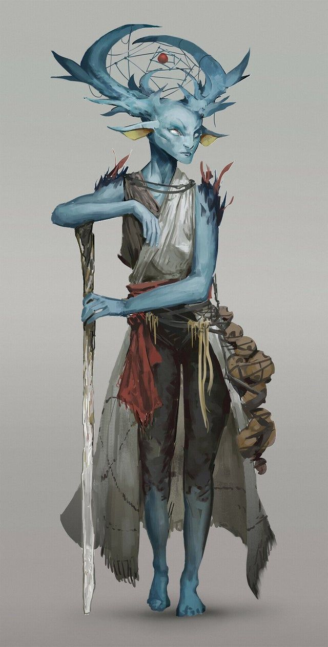 Fey druid by me