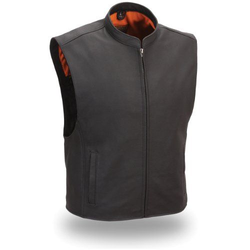 Save $ 10.01 order now First Manufacturing Men's Zip Front Club Patch Vest