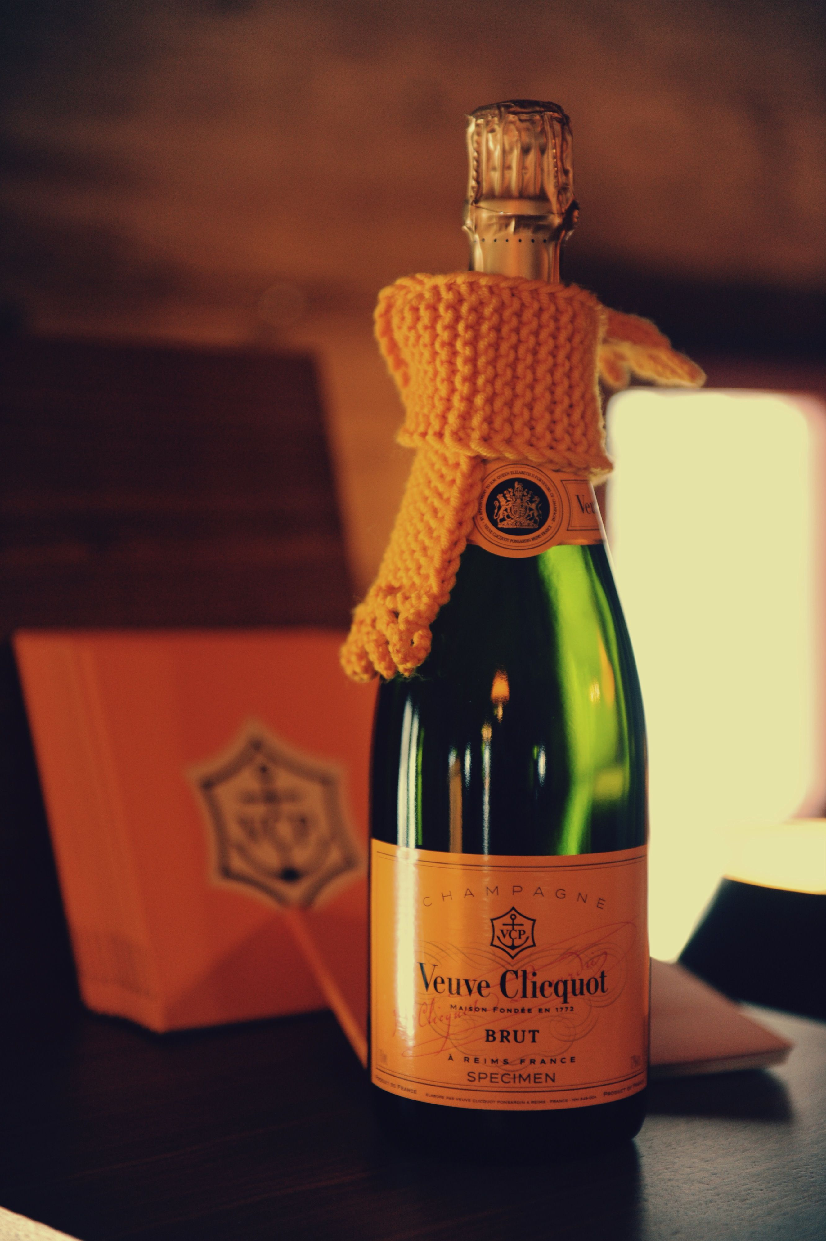 Bundled Up Champagne Veuve Clicquot French Wine