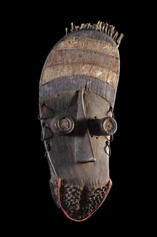 Photo of Masque facial de ceremonie – Grebo – Liberia / Côte d'Ivoire – Objet n°3948 – Galerie Bruno Mignot