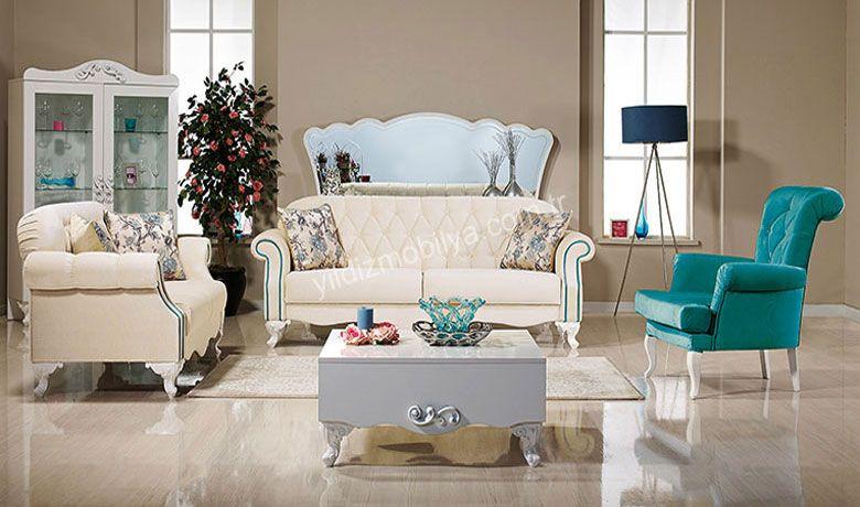 Venüs Salon Takımı Özel Kapitone İşçiliği Uygulanan Sırt Kısmı Modele Son Dönemin Modası Olan Klasik Bir Dokunuş Katıyor http://www.yildizmobilya.com.tr/venus-salon-takimi-pmu5513 #koltuk #kadın #home #dekorasyon #populer #trend #renkli #mavi #mobilya #pinterets http://www.yildizmobilya.com.tr/