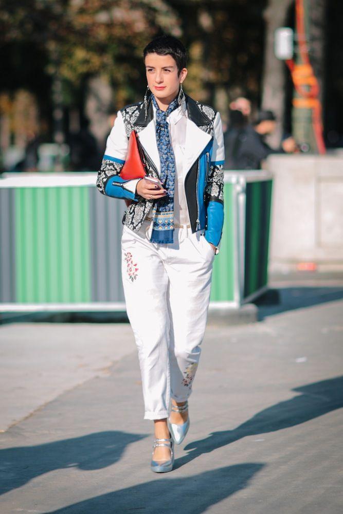 Paris Fashion Week SS17 Street Style: Day 8