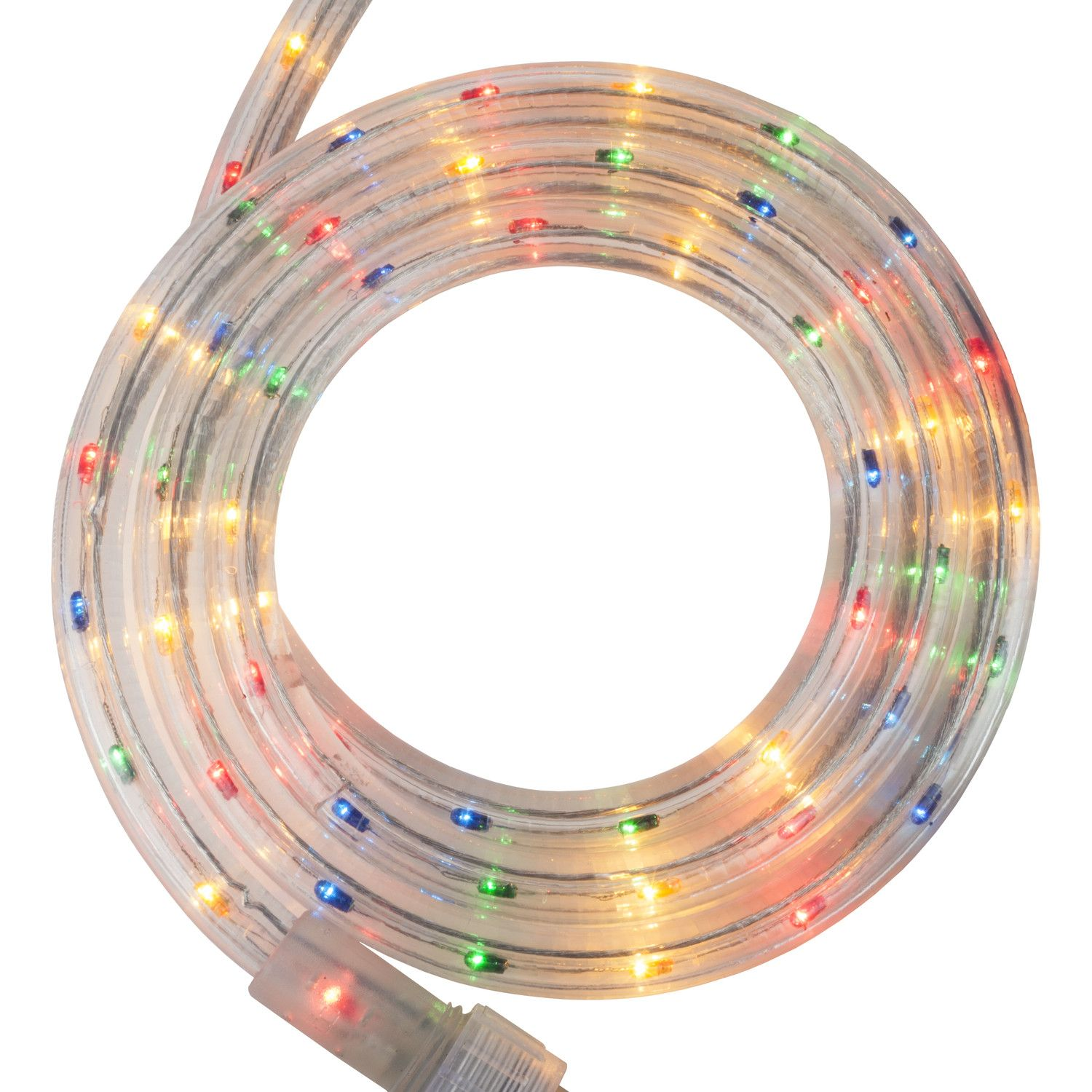 """12 Volt Rope Lights 12' Multicolor Rope Light 2 Wire 12"""" 120 Volt  Rope Lighting And"""
