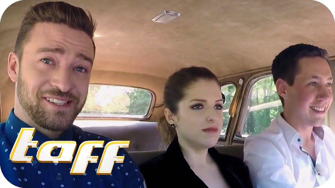 Stars in Cars mit Justin Timberlake  & Anna Kendrick   taff   ProSieben
