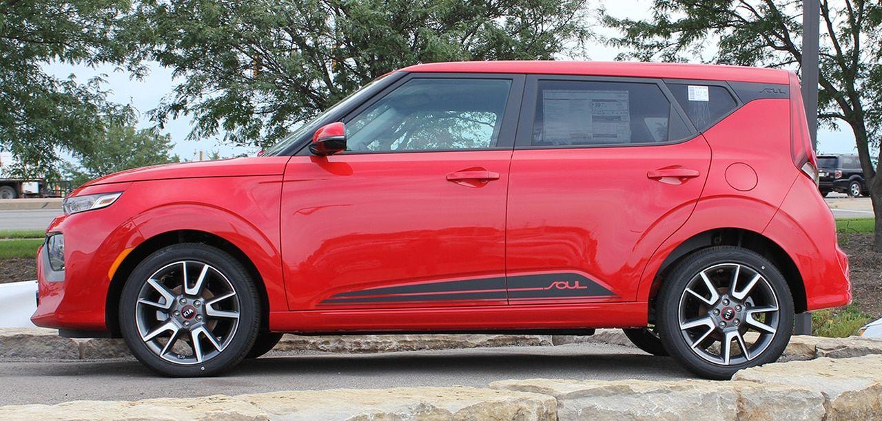 2020 Kia Soul Side Stripes Souled Rocker 3m Premium Wet Install Kia Soul Kia Car Stripes