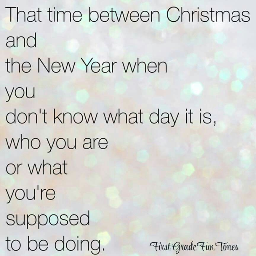 Image result for time between christmas and new year