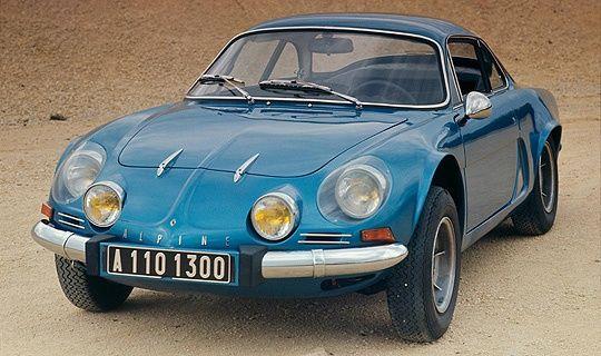 Renault Alpine A110 1961 Renault Alpine Sports Cars Renault
