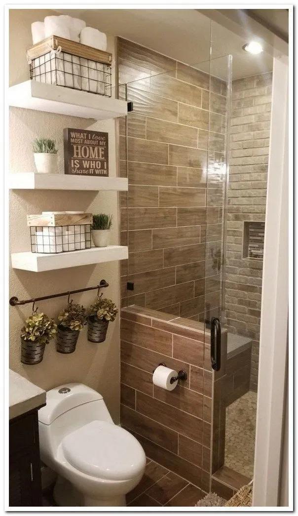 Pin De Liliana Torres En Bathroom Como Decorar Banos Pequenos