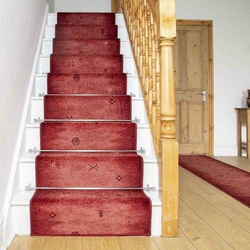 Teppich Aluta in Rot Rosalind Wheeler Teppichgröße: Läufer 80 x 540 cm