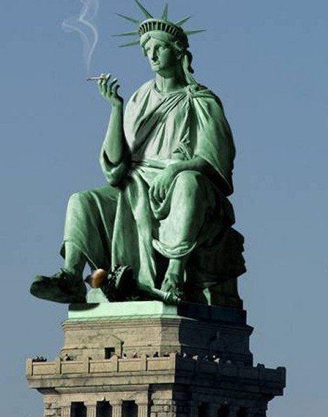 Beautiful Top 11 des détournements rigolos de la statue de la liberté  UQ23