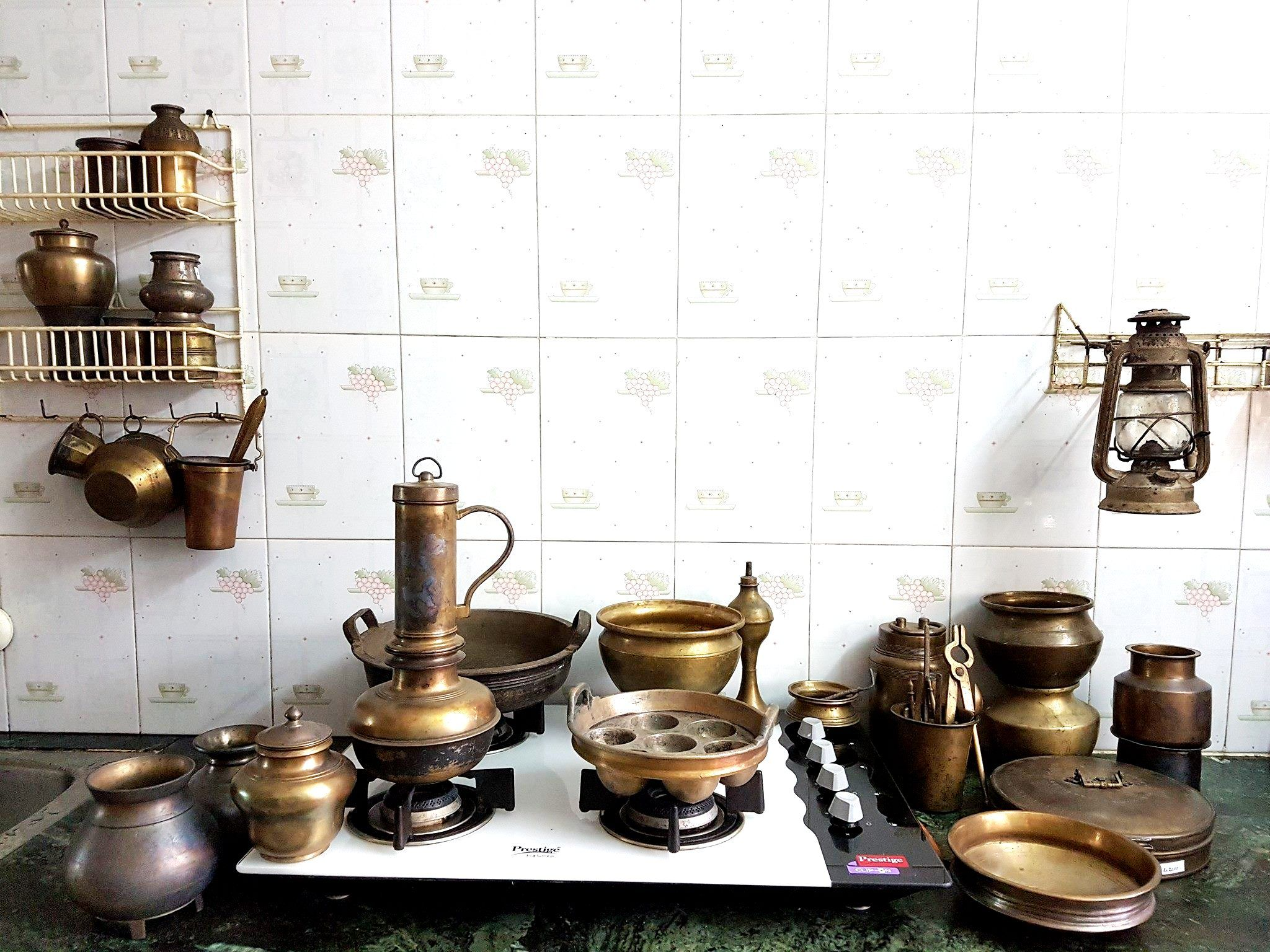 Brass Cooking vessels of yore from South India - Visit https://www ...