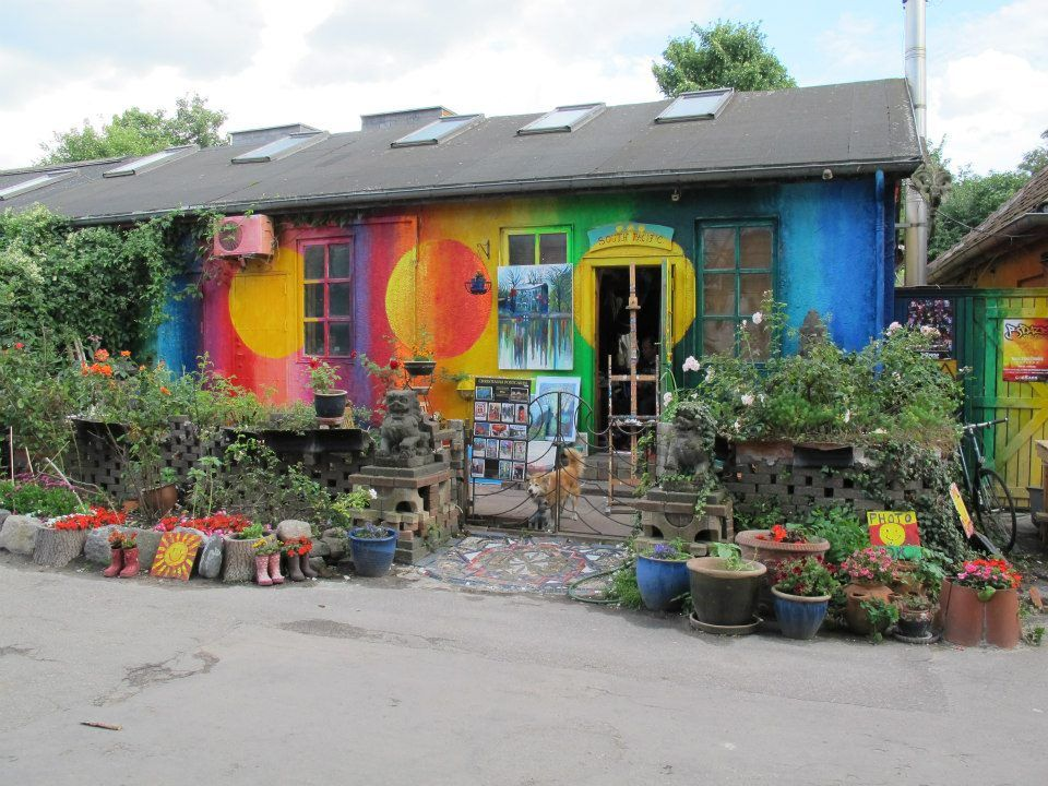 drømmehuset på Christiania - house located in the hippie town of Christiania, Denmark.