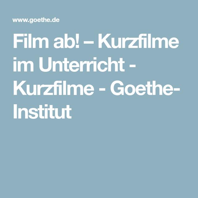 Kostenlose Kurzfilme