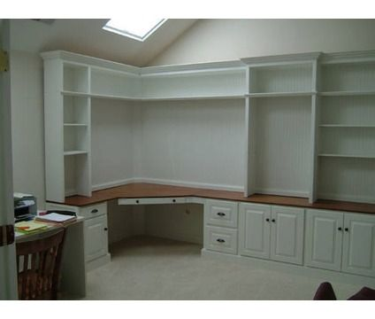 Service In Ashburn Va Built In Desk Built In Bookcase Home