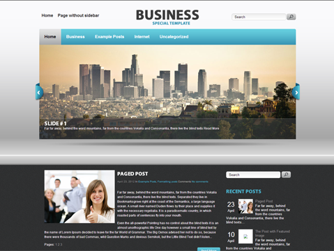 Business is simple but powerful wordpress theme for personal blog business a new and exciting free wordpress business theme is one such distinctive wordpress theme that will give your trade a big push cheaphphosting Gallery