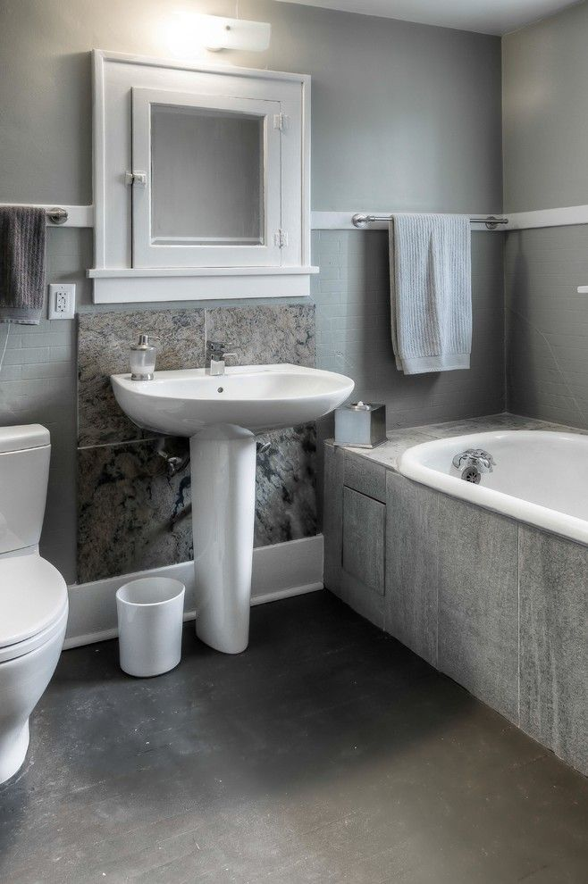 Awesome Pedestal Sink With Backsplash Designs To Peek At