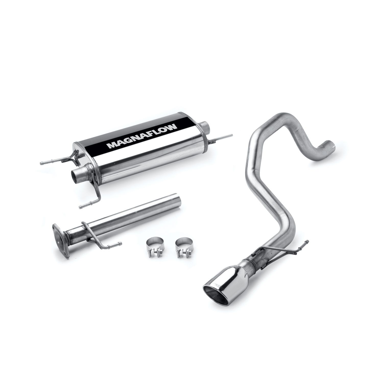Magnaflow Toyota Fj Cruiser 07 14 Stainless Cat Back
